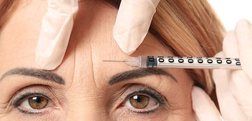 Botox injections in the eyebrows: important nuances