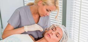 Utilisation de la thérapie botulique en cosmétologie: injections de toxine botulique