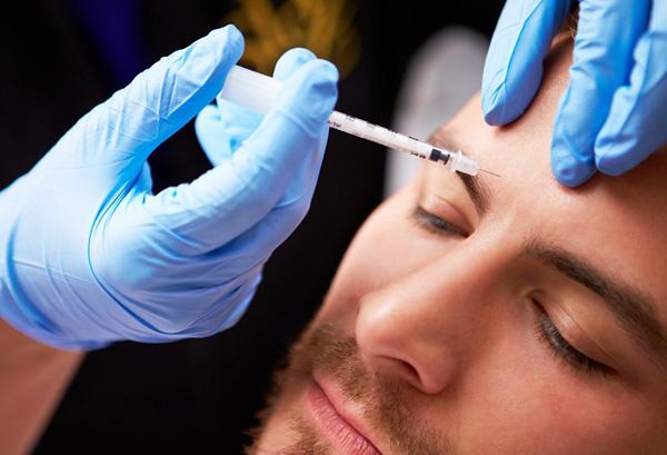 Injections de toxine botulique pour hommes