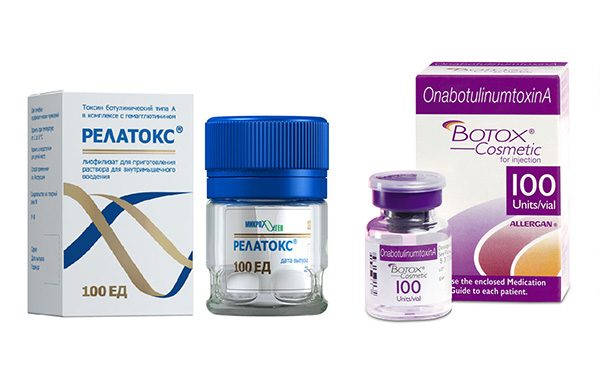 Comparaison de Botox et Relatox