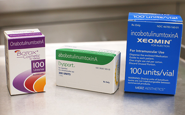 Botox, Dysport, Xeomin