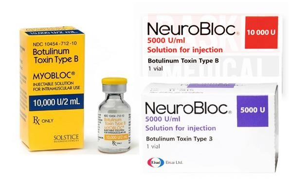 Mioblock ou Neuroblock (pour l'Europe) - une préparation à base de toxine botulique de type B