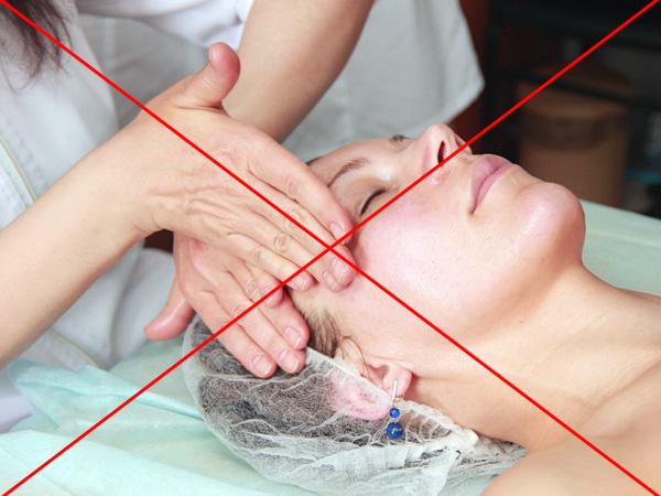 Interdiction des massages du visage après un traitement au botulinum