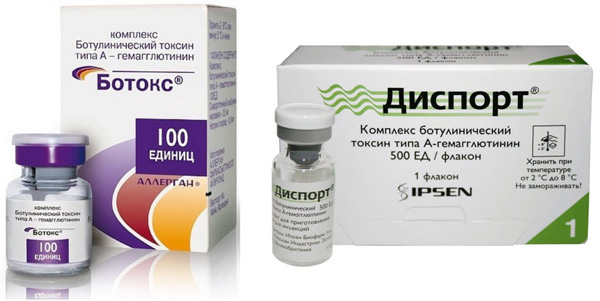 Nous trouvons ce qui est le plus efficace: le Botox classique ou le plus récent Dysport?
