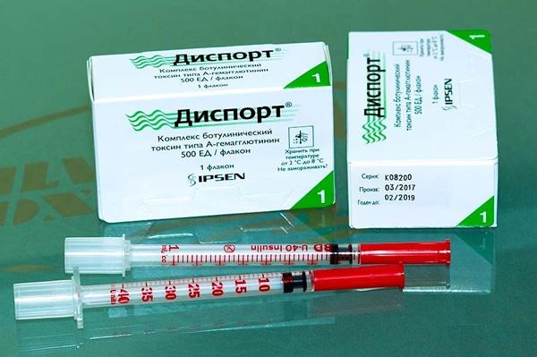 Dysport - un analogue de Botox