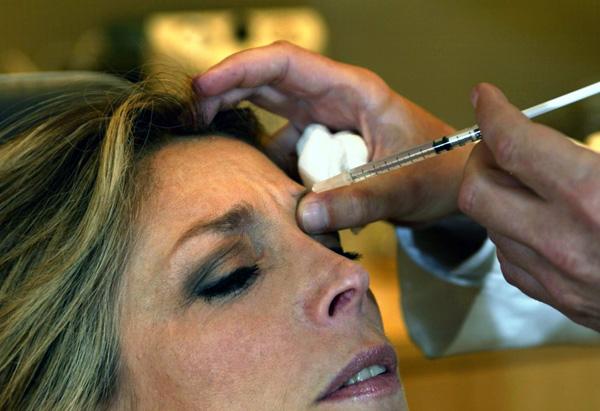 Parlons des injections de Botox dans le front ...