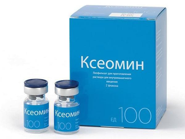 Xeomin - un médicament à base de toxine botulique