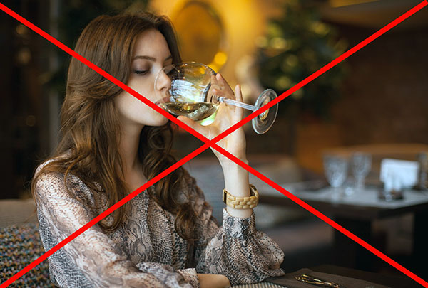 Attention à boire de l'alcool avant le traitement botulinique